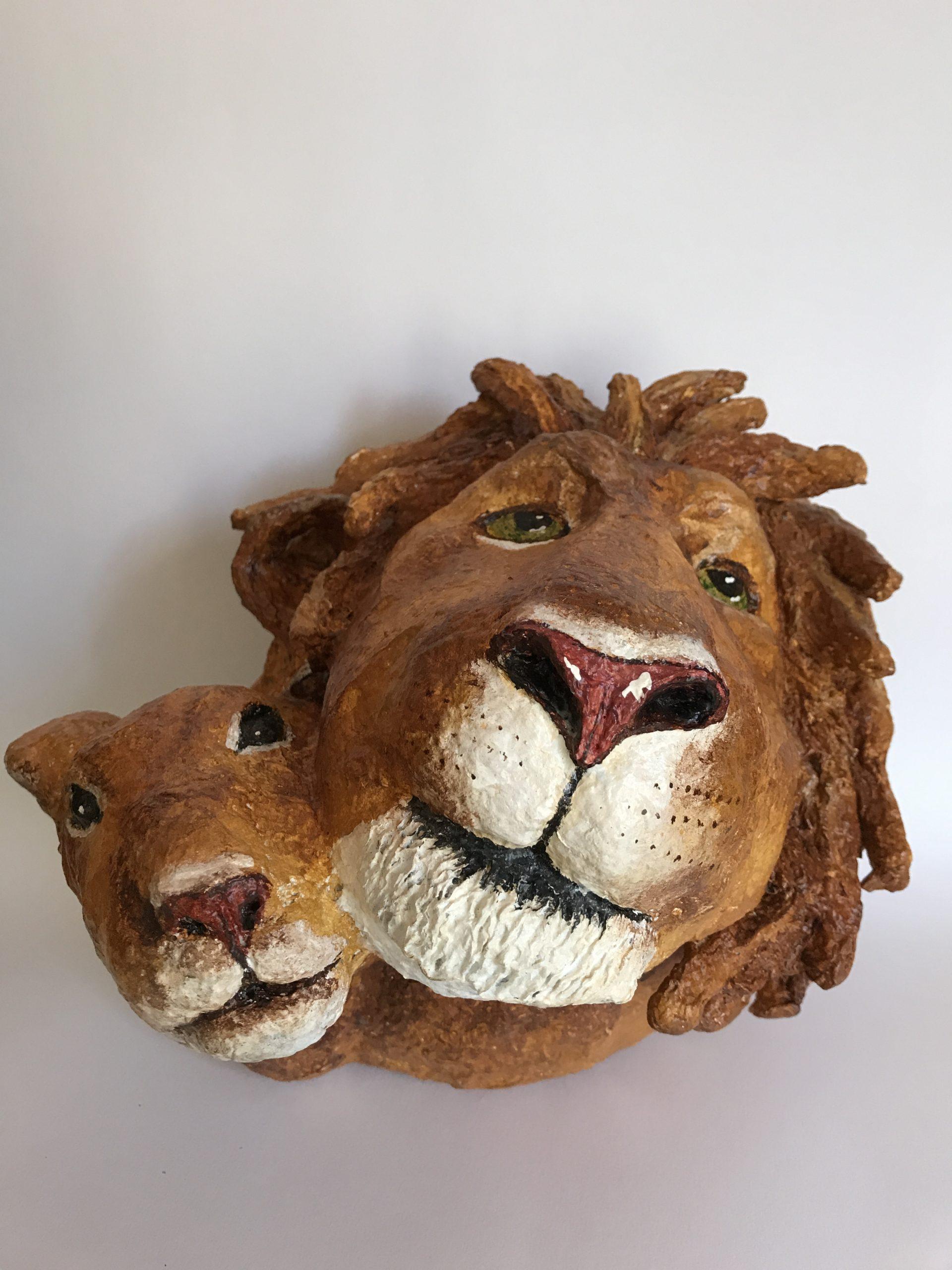 lion et son fils
